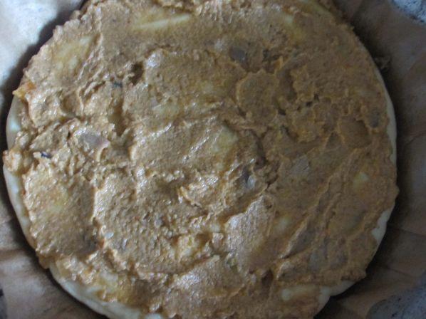 Пицца с грибной икрой рецепт с фото