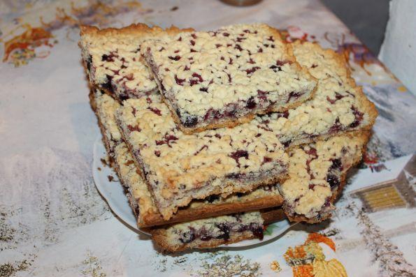 Тертый пирог на смальце рецепт с