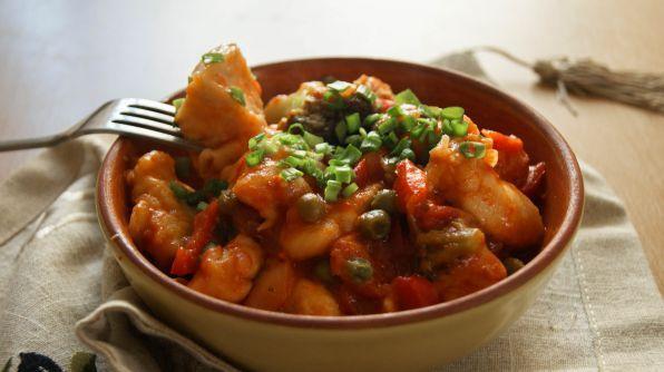 Овощи тушеные с курицей на сковороде рецепт с пошагово