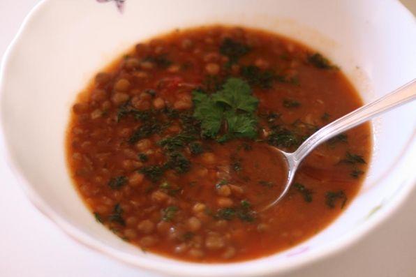 Суп из коричневой чечевицы рецепт