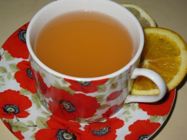 Фото: Имбирно-цитрусовый горячий напиток