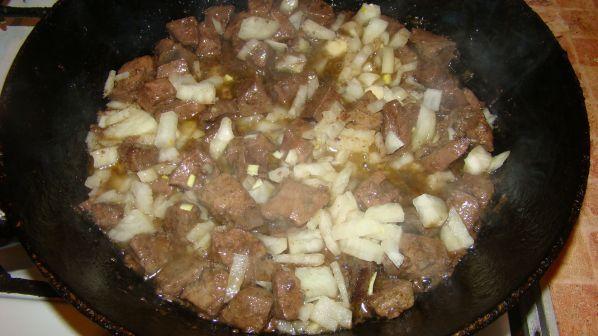 Подлива из говяжьей печени - пошаговый рецепт с фото