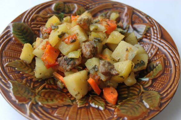 Овощное рагу со свининой в мультиварке рецепты с фото пошагово