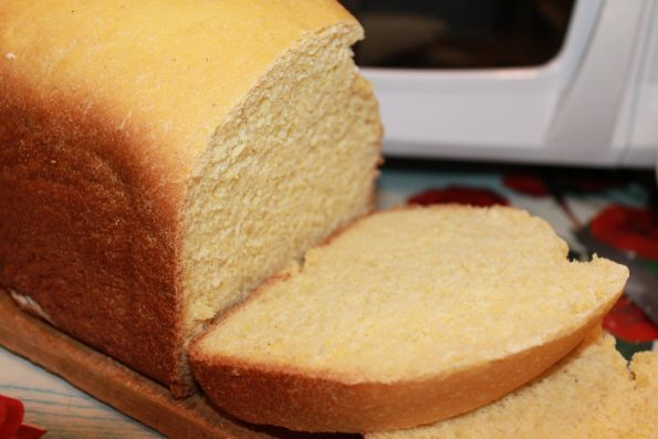 Фото: Кукурузный хлеб