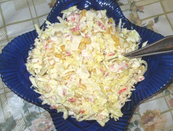 Простые салаты из капусты на скорую руку