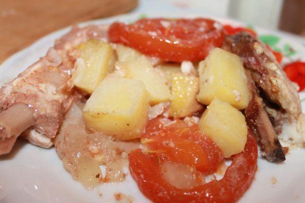 Рецепт со свиными ребрышками рецепт с фото в мультиварке