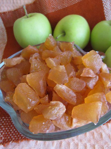 Фото: Яблочные цукаты