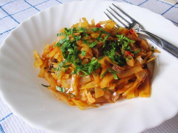 солянка с капустой и сушеными грибами рецепт