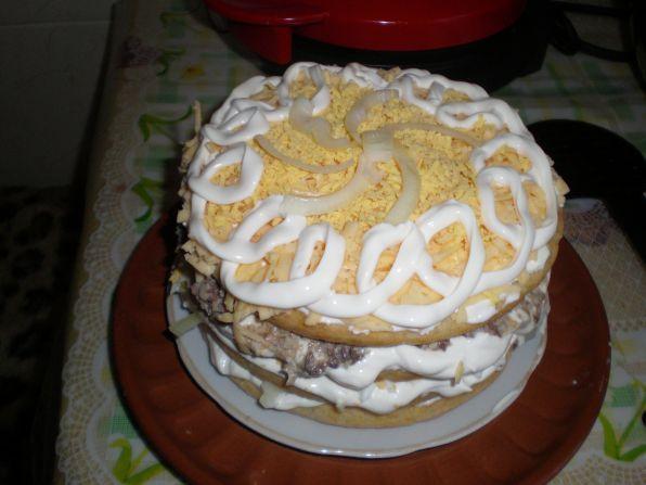 Торт нептун рецепт