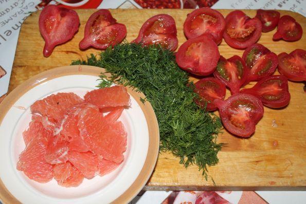 Свинина с грейпфрутом рецепт