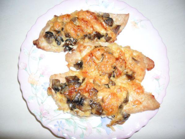Рецепты с вешенками с куриным филе