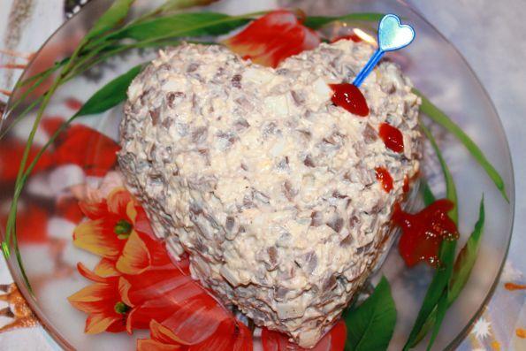 Рецепт салата из свиного сердца сердечные дела