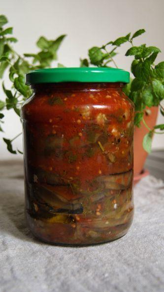 Фото: Баклажаны острые в томате