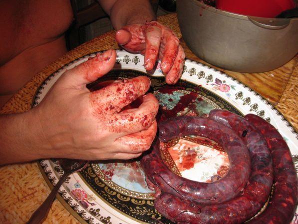 Как сделать кровяную колбасу в домашних условиях пошаговый рецепт с фото