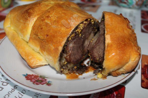 """Фото: Мясо по """"веллингинстонски"""""""