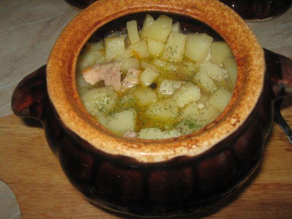 рецепт горшочков с мясом и картошкой