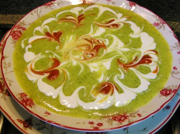 Суп-пюре из кабачков - кулинарный рецепт