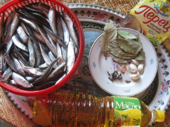 Как сделать кильку из речной рыбы