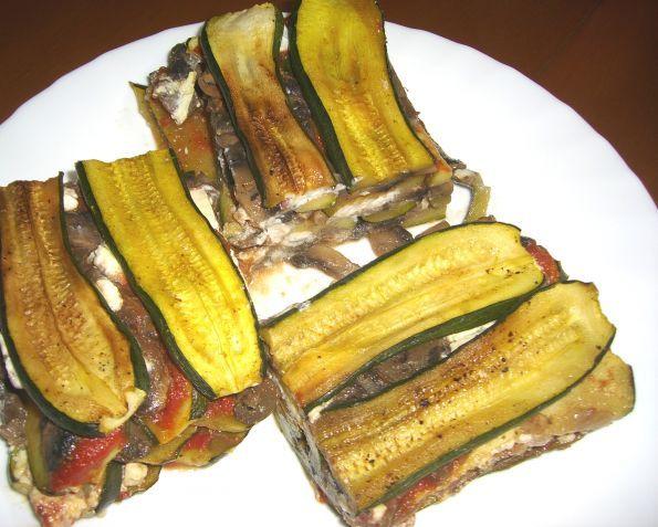 Фото: Овощная лазанья из цукини