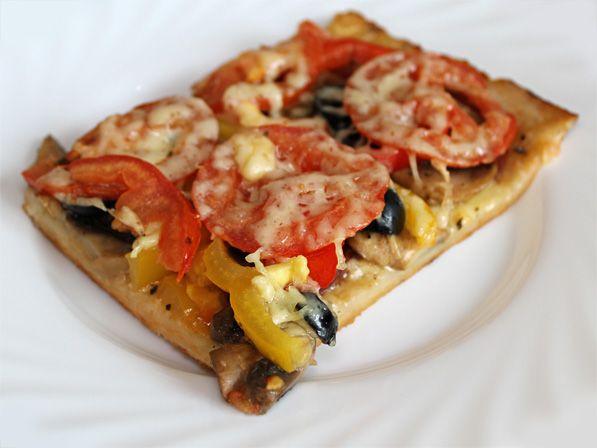 Фото: Пицца на тонком тесте: простое тесто для пиццы